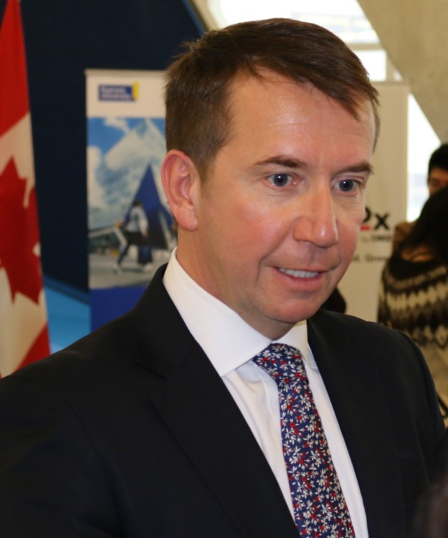 The President of the Treasury Board, Scott Brison