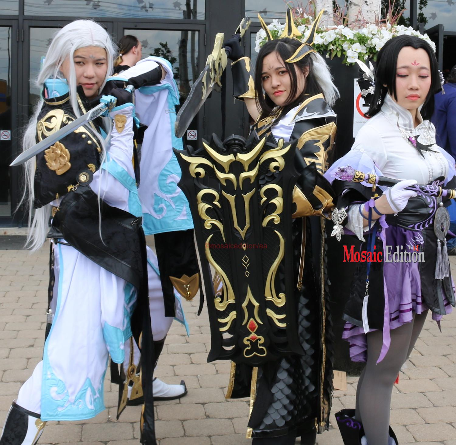 Anime north 2017 featured creative costumes roleplay cosplaypop culture manga japanese