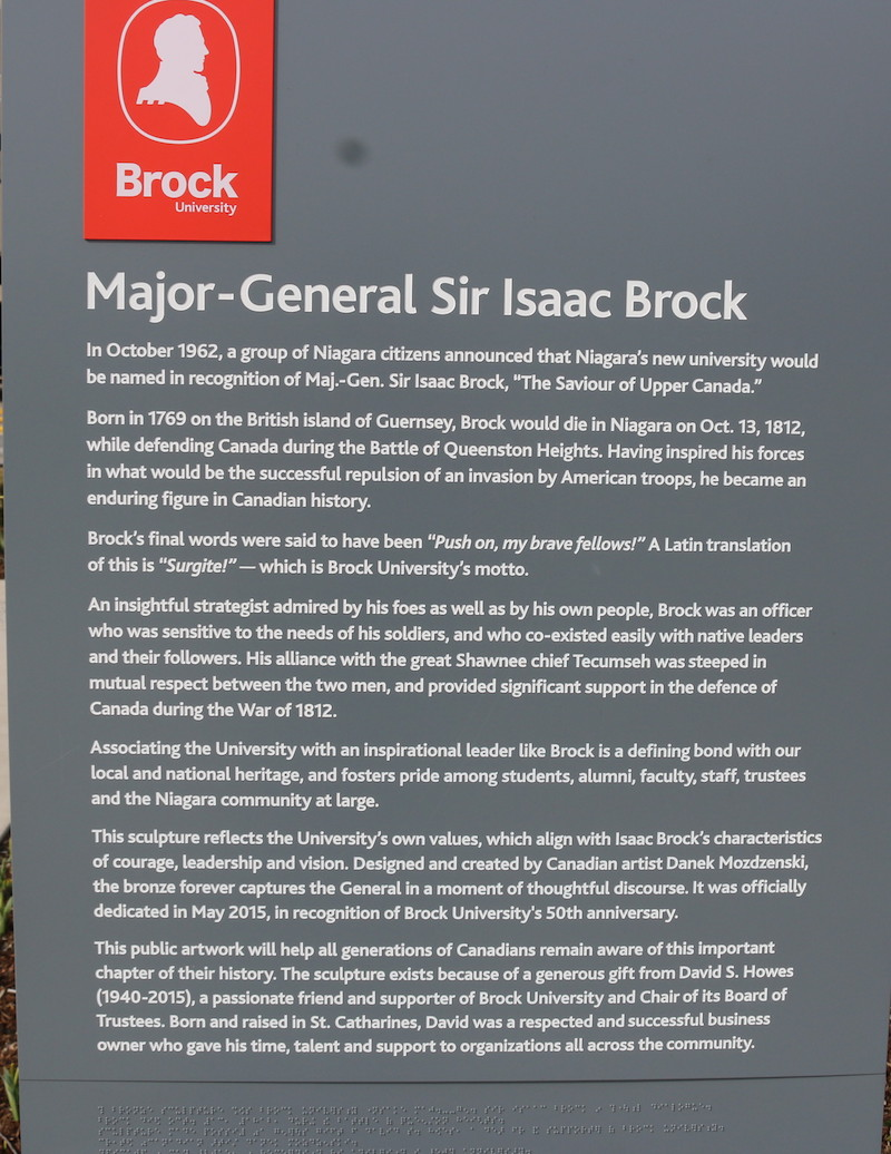 Canada 150- Major- General Isaac Brock