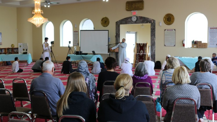 The Islamic Society of St. Catharines welcomed a cross-section of the community to its Open House 2017 by explaining their religion, how it is practised, cultures and various cuisines.