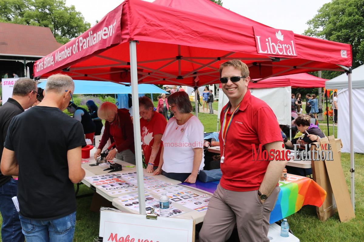 7th Annual Pride in the Park -Presented By Niagara Casinos – MP Chris Bittle - mosaicedition.ca-ea