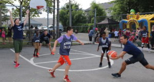 Manchester youth challenge Mayor – Police – EMS to Basketball Tournament - mosaicedition.ca-ea