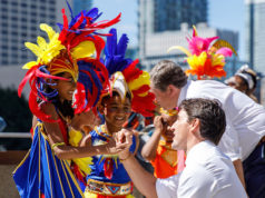 Prime Minister Justin Trudeau meets with the organizers and artists of the Caribana festival in Toronto - Photo Adam Scotti (PMO)