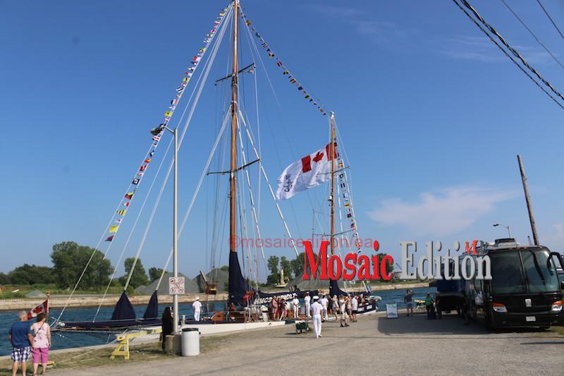 HMCS Oriole -Canal Days Maritime Heritage Festival Port Colborne 2018 - mosaicedition.ca-ea