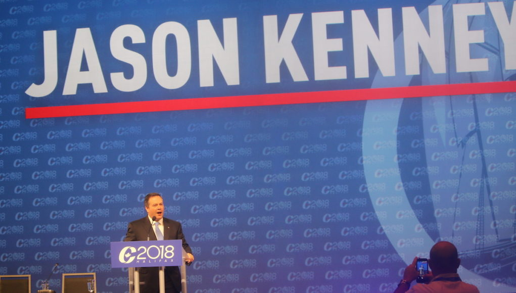 Jason Kenney at the Conservative Convention 2018 - mosaicedition-ca-ea