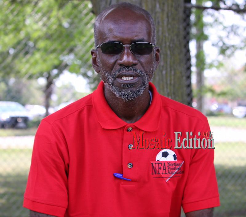 Manager Ruthvin Charles - Northen Football Association - mosaicedition.ca-ea