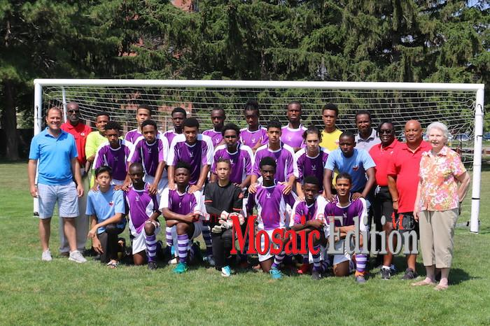 Northern Football Association, Trinidad and Tobago U16 Soccer Team - Friendly Soccer Match - Port of Spain plays St. Catharines - mosaicedition.ca-ea