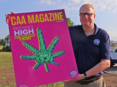 Peter Van Hezewyk - CAA Niagara and magazine cover - photo supplied.