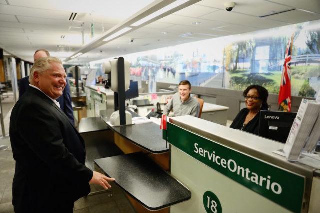 Premier Doug Ford - Ontario Freezing Driver Fees - photo supllied