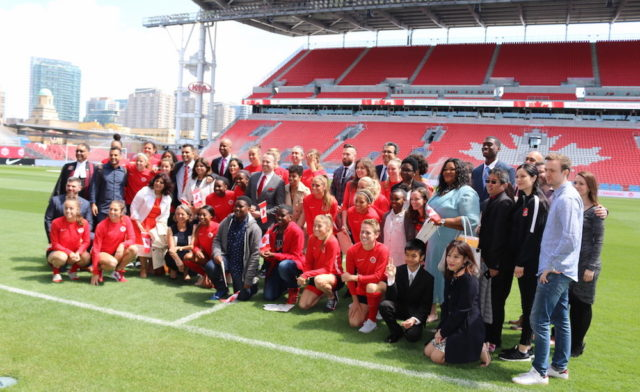 Canada Soccer's Women's National Team welcomes new Canadians