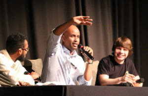 Minister Hussen visits his former school to talk about why Immigration Matters