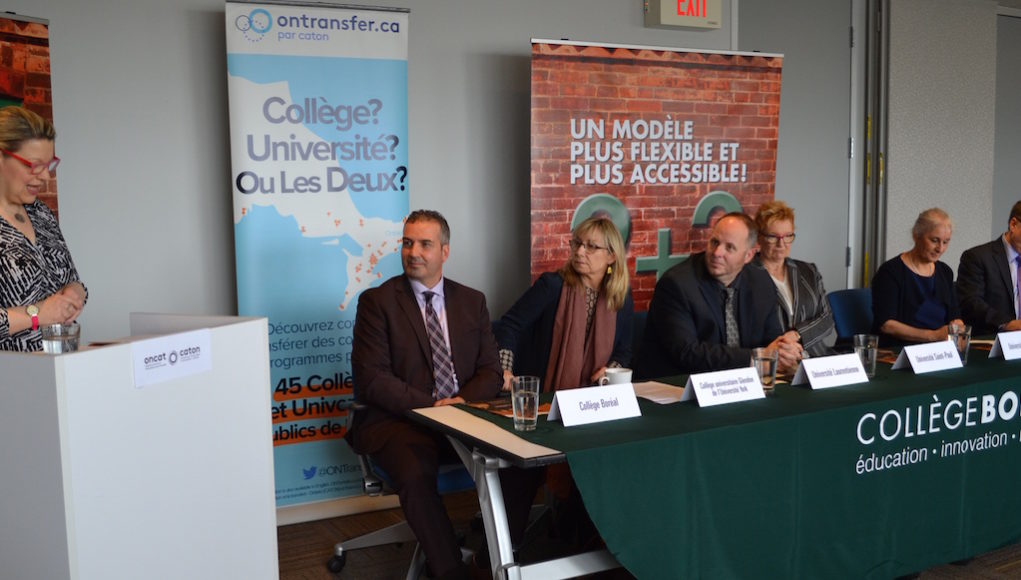 Collège Boréal Presents First University Partners for Future Toronto Campus - photo supplied.