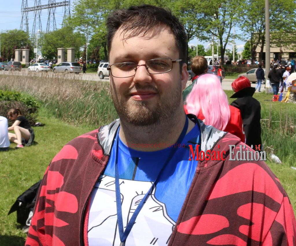 Mitch Normand has been attending the Anime Convention since age 15 and has been to 9 conventions.