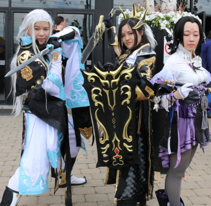 Anime North 2017 featured creative costumes, roleplay, cosplay,pop culture, manga Japanese anime, games, pokemon, dolls, cartoons, dungeons and dragons and many more anime cultural fantasies. mosaicedition_ea