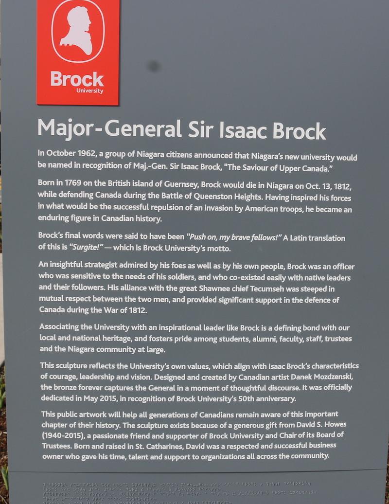 Canada 150- Major- General Isaac Brock