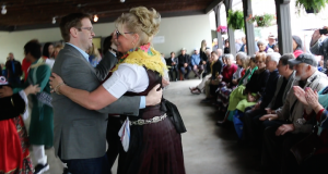 MP Chris Bittle dances Polka at the Slovenian Lipa Park Open House 2017