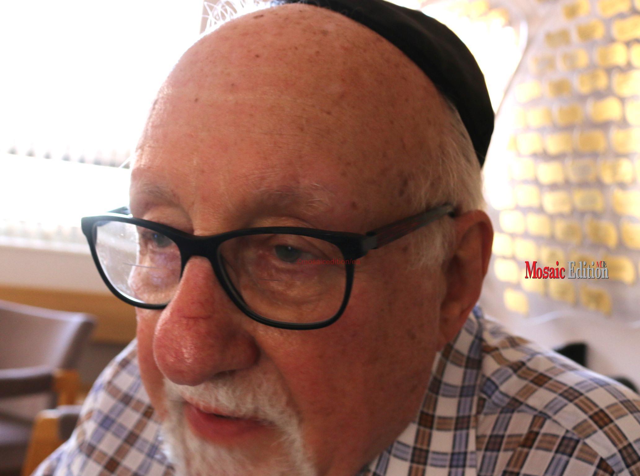 Past President Harold Nash - Congregation B'Nai Israel. mosaicedition:ea