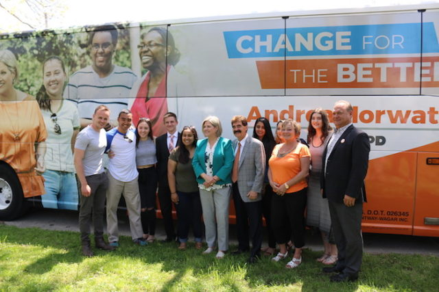 Andrea Horwath Leader Ontario NDP in St. Catharines - mosaicedition.ca-ea