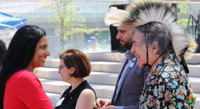 Toronto Newcomer Day - Citizenship Ceremony at Nathan Phillips Square - mosaicedition.ca